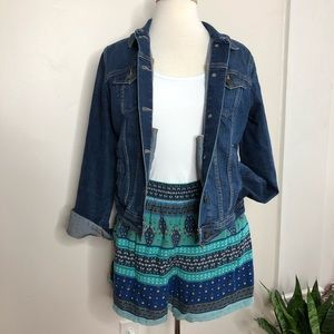 Mossimo Supply Co. mixed boho print shorts